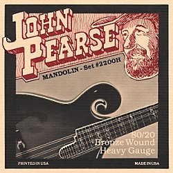 John Pearse 2200H Heavy Gauge Mandolin Strings (2200H)