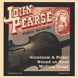 John Pearse 4100 Flat Wound Fiddle Strings (JP4100)