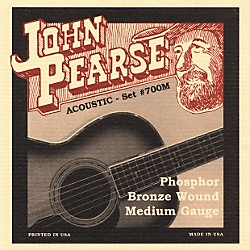 John Pearse 700M Bronze Acoustic Guitar Strings (JP700M)