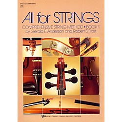 KJOS All For Strings 1 Piano Accomp (78PA)