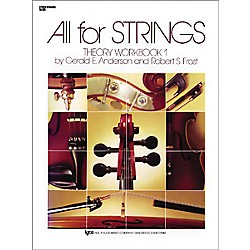 KJOS All For Strings 1 Theory Workbook String Bass (84SB)