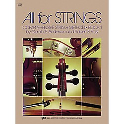 KJOS All For Strings Book 1 Violin (78VN)