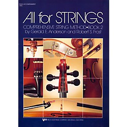 KJOS All For Strings Book 2-PIANO (79PA)