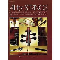 KJOS All For Strings Book 3 Score (80F)