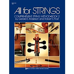 KJOS All for Strings String Bass Book 2 (79SB)