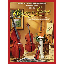 KJOS Artistry In Strings 2 Book/CD Violin Book (101VNCD)