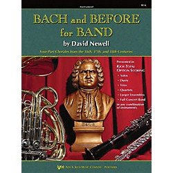 KJOS Bach And Before For Band French Horn (W34HF)