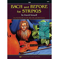 KJOS Bach And Before For Strings Cello (110CO)