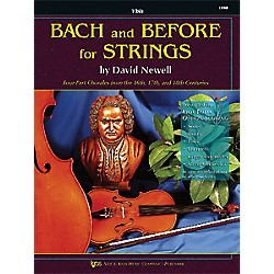 KJOS Bach And Before For Strings Viola (110VA)