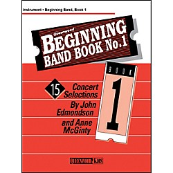 KJOS Beginning Band Book 1 Clarinet 2 /Edmondson /Queenwood (Q886005)
