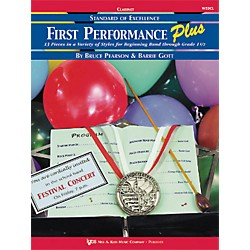 KJOS First Performance Plus 1st/2nd Bflat Clarinet Book (W53CL)