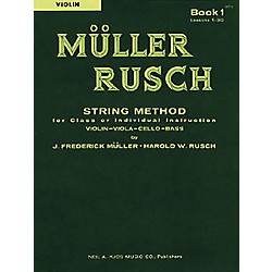KJOS Muller-Rusch String Method 1 Violin Book (51VN)