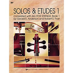 KJOS Solos And Etudes 1 All For Strings Violin Book (89VN)