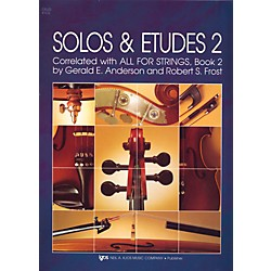 KJOS Solos And Etudes-BOOK 2/CELLO (91CO)