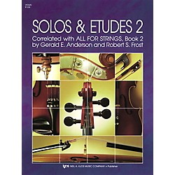 KJOS Solos And Etudes-BOOK 2/VIOLIN (91VN)
