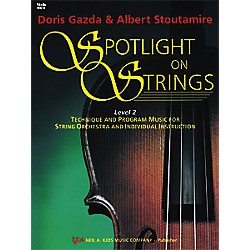 KJOS Spotlight On Strings Book 2 Violin (93VN)