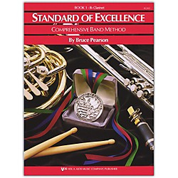 KJOS Standard Of Excellence Book 1 Clarinet (W21CL)