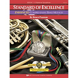 KJOS Standard Of Excellence Book 1 Enhanced Baritone Sax Band Method (PW21XR)
