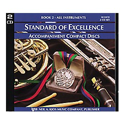 KJOS Standard Of Excellence Book 2 Accompaniment 2-CD Set (W22CD)
