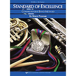 KJOS Standard Of Excellence Book 2 Clarinet (W22CL)