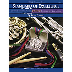 KJOS Standard Of Excellence Book 2 Conductor Score (W22F)