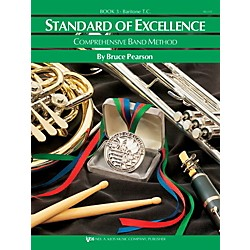 KJOS Standard Of Excellence Book 3 Baritone Tc (W23TC)