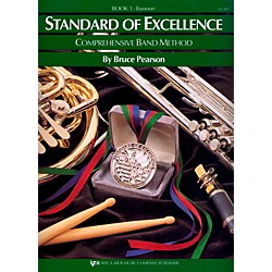 KJOS Standard Of Excellence Book 3 Bassoon (W23BN)