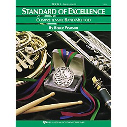 KJOS Standard Of Excellence Book 3 Drums/Mallet Percussion (W23PR)