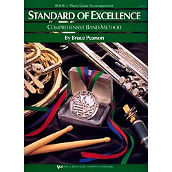 KJOS Standard Of Excellence Book 3 Piano/Guitar Accomp (W23PG)