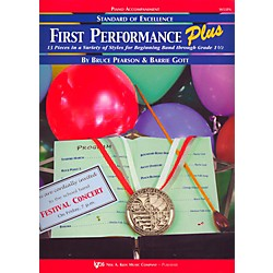 KJOS Standard Of Excellence First Performance Plus-PIANO ACCOMP (W53PA)