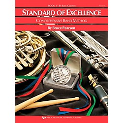 KJOS Standard of Excellence Book 1 Bass Clarinet (W21CLB)
