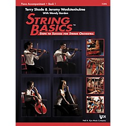 KJOS String Basics Book 1 - Piano Accompaniment (115PA)