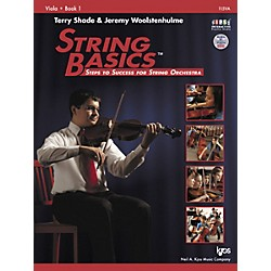 KJOS String Basics Book 1 for Viola (115VA)