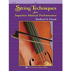 KJOS String Techniques For Superior Musical Performance Violin (114VN)