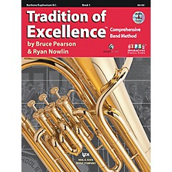 KJOS Tradition Of Excellence Book 1 for Baritone Bc (W61BC)