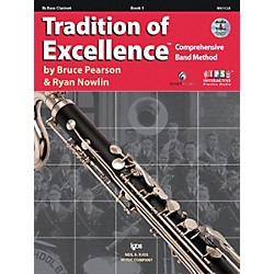 KJOS Tradition Of Excellence Book 1 for Bass Clarinet (W61CLB)