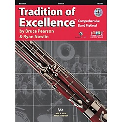 KJOS Tradition Of Excellence Book 1 for Bassoon (W61BN)