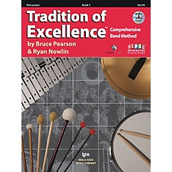 KJOS Tradition Of Excellence Book 1 for Percussion (W61PR)