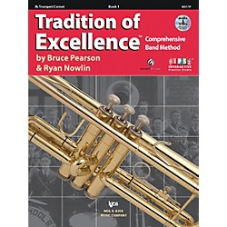 KJOS Tradition Of Excellence Book 1 for Trumpet (W61TP)