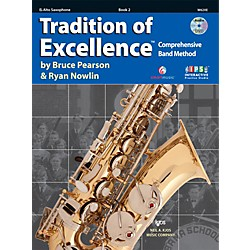 KJOS Tradition Of Excellence Book 2 for Alto Sax (W62XE)