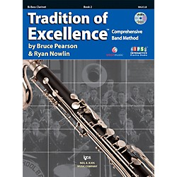 KJOS Tradition Of Excellence Book 2 for Bass Clarinet (W62CLB)