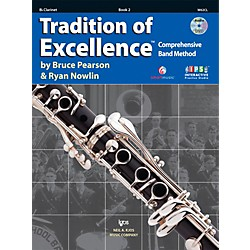 KJOS Tradition Of Excellence Book 2 for Clarinet (W62CL)