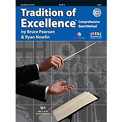 KJOS Tradition Of Excellence Book 2 for Conductor (W62F)