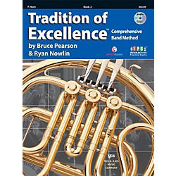 KJOS Tradition Of Excellence Book 2 for French Horn (W62HF)