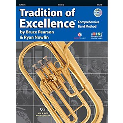 KJOS Tradition Of Excellence Book 2 for Horn E Flat (W62HE)