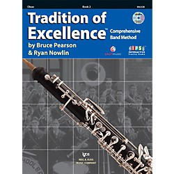 KJOS Tradition Of Excellence Book 2 for Oboe (W62OB)