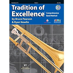 KJOS Tradition Of Excellence Book 2 for Trombone TC (W62TBG)