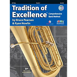 KJOS Tradition Of Excellence Book 2 for Tuba E Flat (W62BSE)