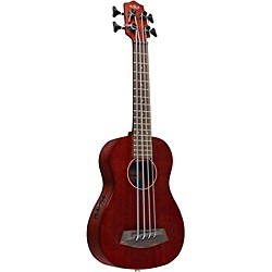 Kala Rumbler Fretted Acoustic Electric U-BASS (UBASS-RMBL-FS)