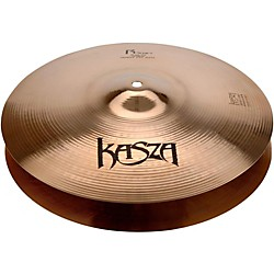 Kasza Cymbals Light Top/Heavy Bottom Skinny Fat Rock Hi-hats (R14LHB)